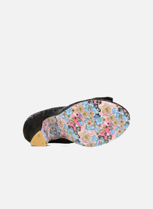 High heels Irregular choice Nick of Time Black view from above