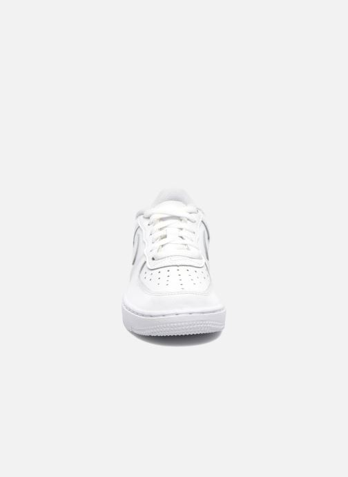 Baskets Nike Air Force 1 (Ps) Blanc vue portées chaussures
