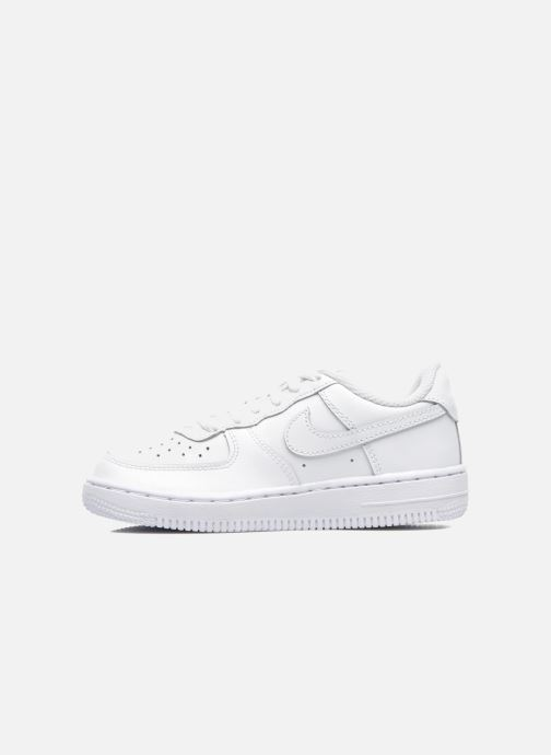Sneakers Nike Air Force 1 (Ps) Hvid se forfra