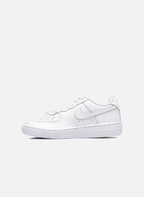 Deportivas Nike Air Force 1 (Ps) Blanco vista de frente