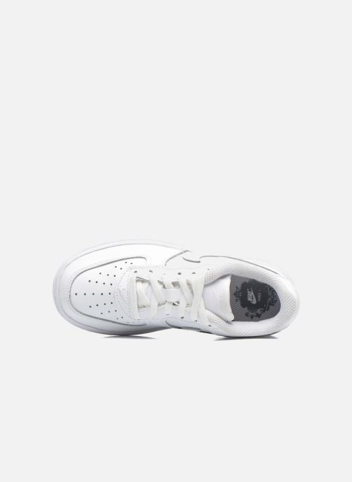 Deportivas Nike Air Force 1 (Ps) Blanco vista lateral izquierda