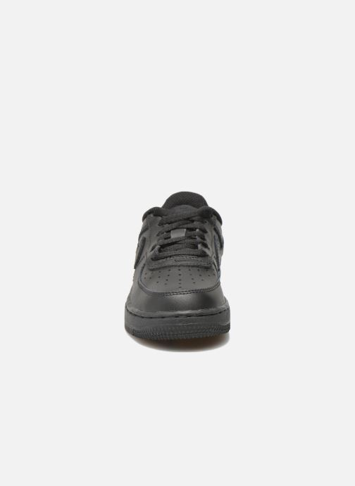 Trainers Nike Air Force 1 (Ps) Black model view