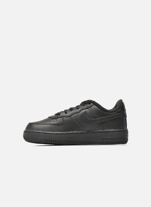 Sneakers Nike Air Force 1 (Ps) Nero immagine frontale