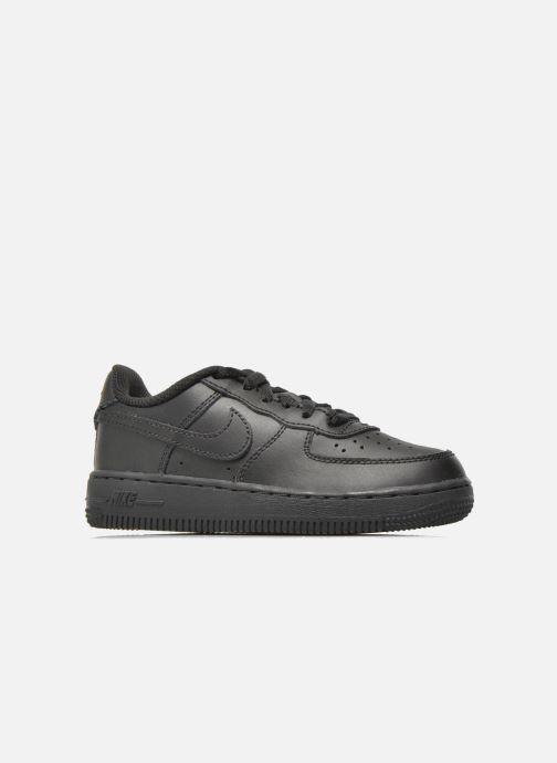 Sneaker Nike Air Force 1 (Ps) schwarz ansicht von hinten