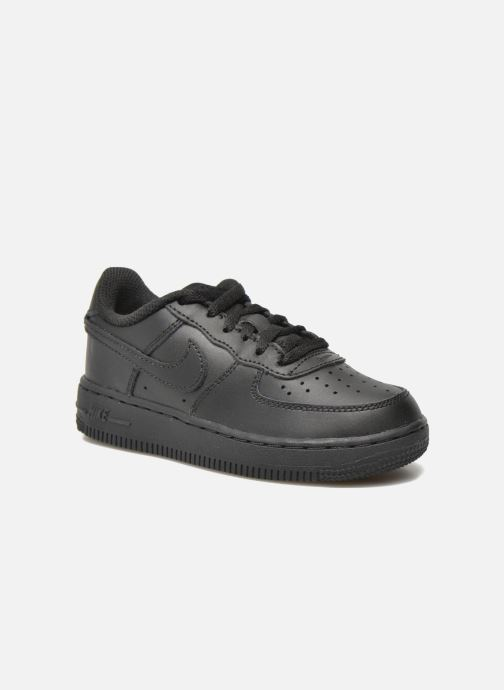 Sneaker Nike Air Force 1 (Ps) schwarz detaillierte ansicht/modell