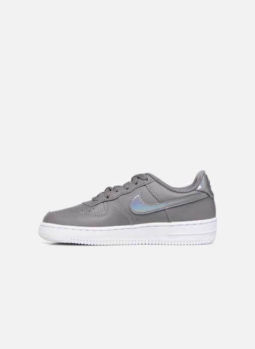 Sneaker Nike Air Force 1 (Ps) grau ansicht von vorne