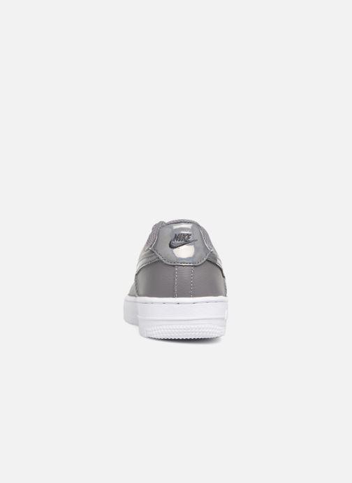 Sneaker Nike Air Force 1 (Ps) grau ansicht von rechts