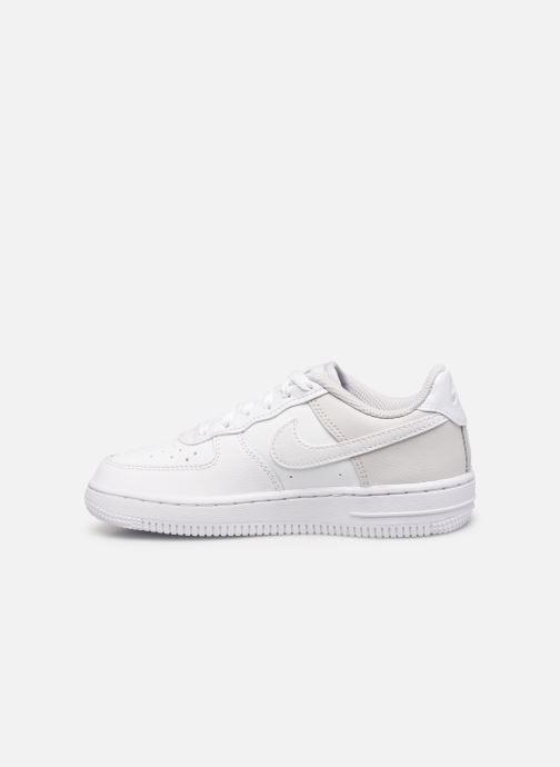 Sneaker Nike Air Force 1 (Ps) weiß ansicht von vorne
