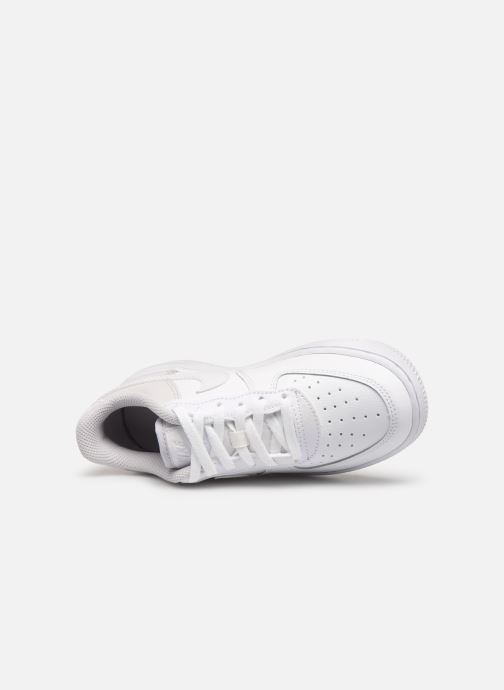 Sneaker Nike Air Force 1 (Ps) weiß ansicht von links