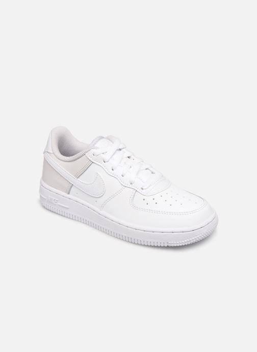 nike air force 1 hvid grey