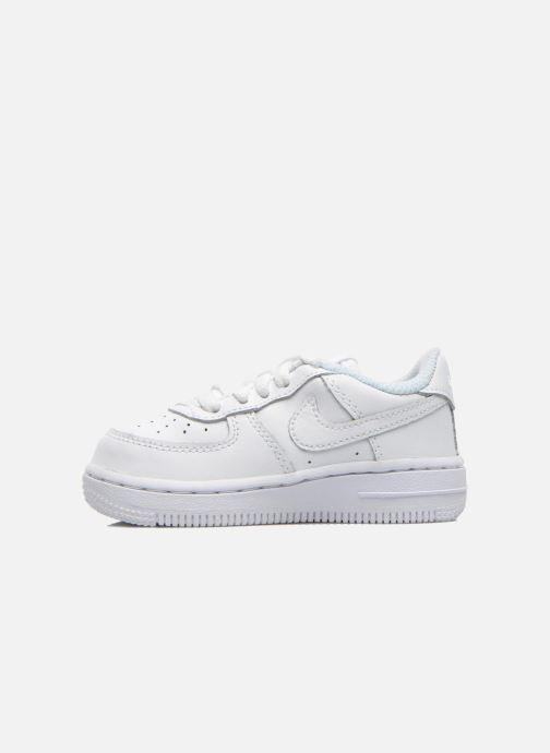 Deportivas Nike Air Force 1 (Td) Blanco vista de frente