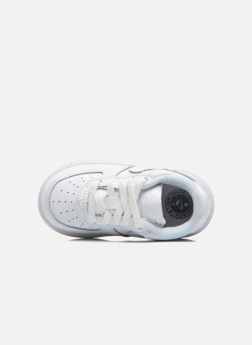 Deportivas Nike Air Force 1 (Td) Blanco vista lateral izquierda