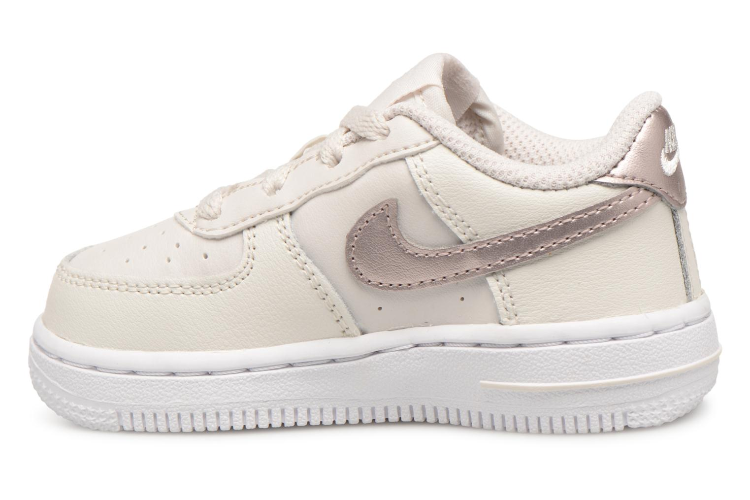 Baskets Nike Air Force 1 (Td) Blanc vue face