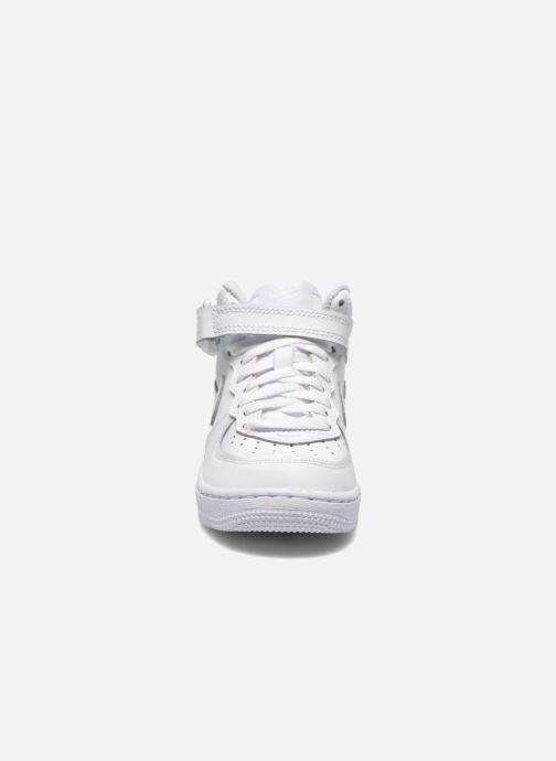 Deportivas Nike Air Force 1 Mid (PS) Blanco vista del modelo