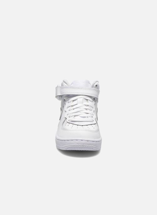 Sneaker Nike Air Force 1 Mid (PS) weiß schuhe getragen