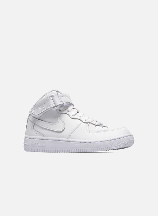 Trainers Nike Air Force 1 Mid (PS) White back view