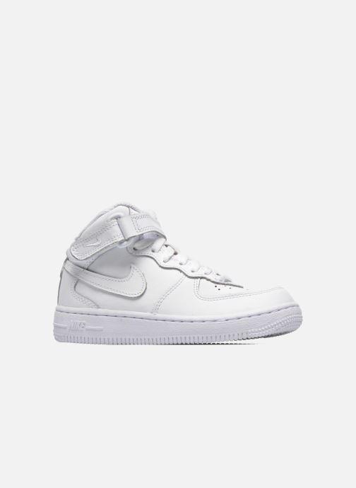 Baskets Nike Air Force 1 Mid (PS) Blanc vue derrière