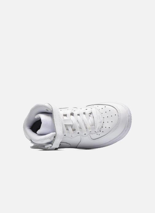 Sneaker Nike Air Force 1 Mid (PS) weiß ansicht von links