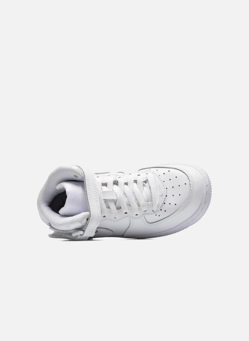 Sneakers Nike Air Force 1 Mid (PS) Wit links