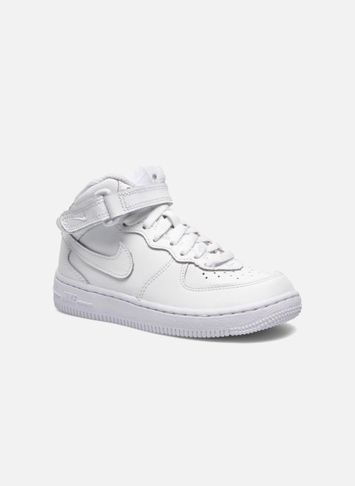 Trainers Nike Air Force 1 Mid (PS) White detailed view/ Pair view