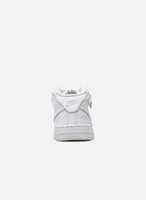 Trainers Nike Air Force 1 Mid (TD) White view from the right