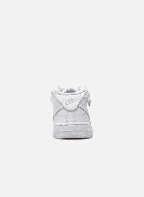 Baskets Nike Air Force 1 Mid (TD) Blanc vue droite