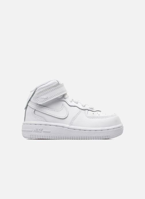Sneaker Nike Air Force 1 Mid (TD) weiß ansicht von hinten