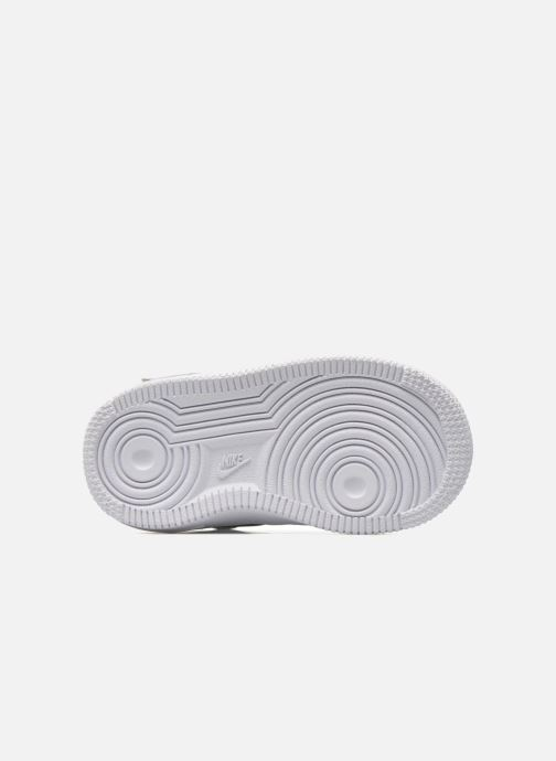 Sneakers Nike Air Force 1 Mid (TD) Bianco immagine dall'alto