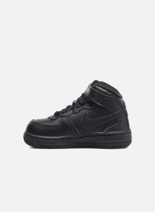 Trainers Nike Air Force 1 Mid (TD) Black front view