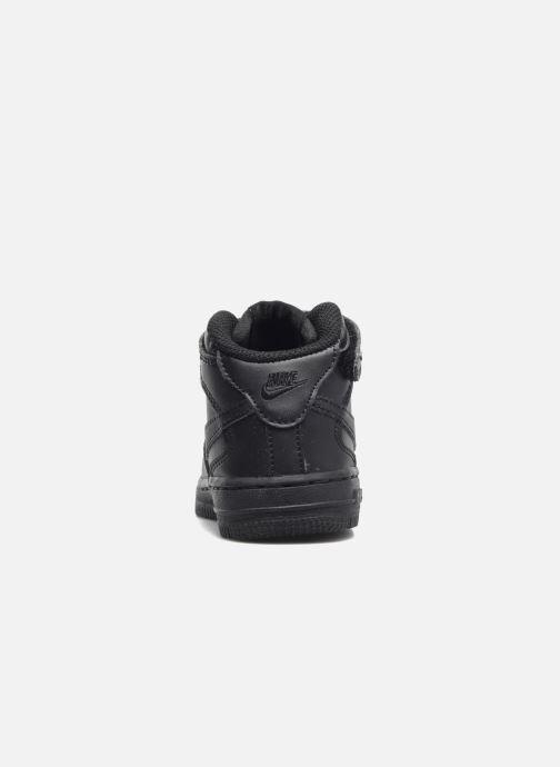 Sneaker Nike Air Force 1 Mid (TD) schwarz ansicht von rechts