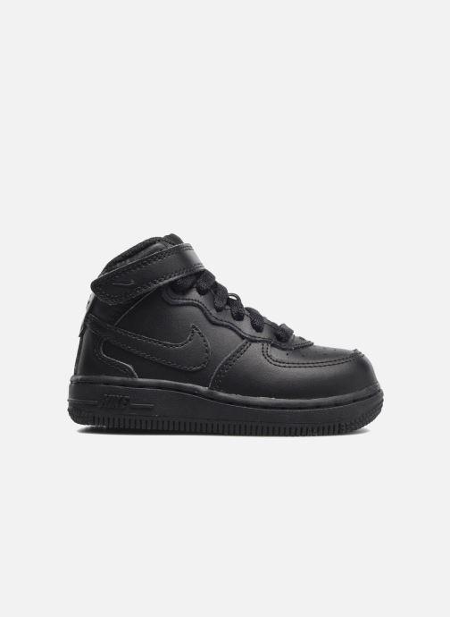 Sneaker Nike Air Force 1 Mid (TD) schwarz ansicht von hinten