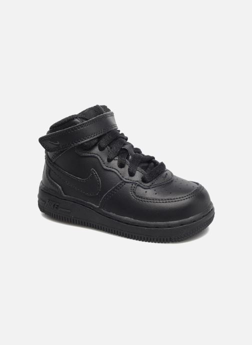 Trainers Nike Air Force 1 Mid (TD) Black detailed view/ Pair view