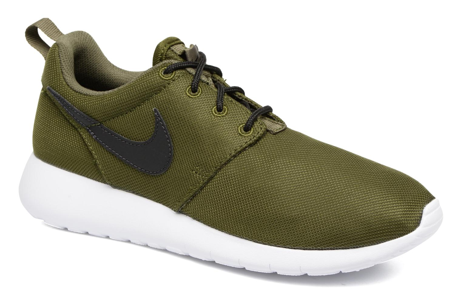 Baskets Nike NIKE ROSHE ONE (GS) Vert vue détail/paire