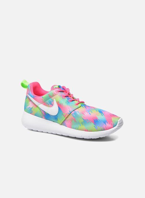 Deportivas Nike NIKE ROSHE ONE PRINT (GS) Multicolor vista de detalle / par