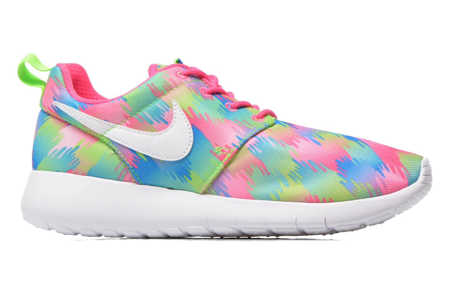 Baskets Nike NIKE ROSHE ONE PRINT (GS) Multicolore vue derrière