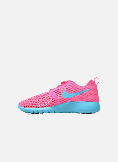 Deportivas Nike ROSHE ONE FLIGHT WEIGHT (GS) Rosa vista de frente