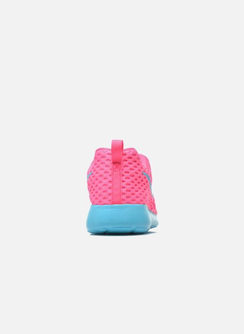 Deportivas Nike ROSHE ONE FLIGHT WEIGHT (GS) Rosa vista lateral derecha