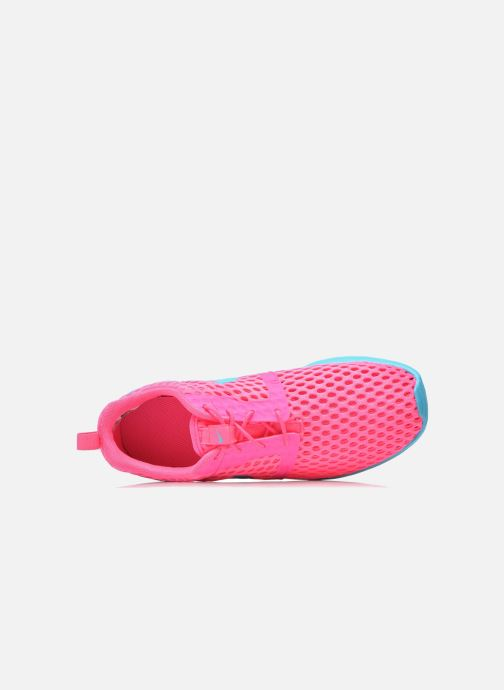 Deportivas Nike ROSHE ONE FLIGHT WEIGHT (GS) Rosa vista lateral izquierda
