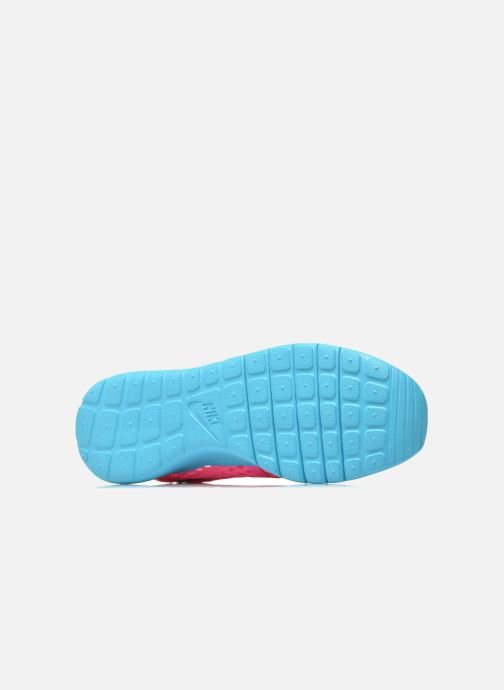 Deportivas Nike ROSHE ONE FLIGHT WEIGHT (GS) Rosa vista de arriba