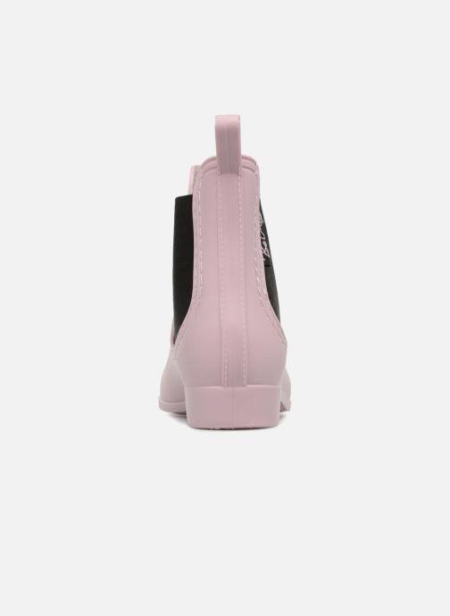 Boots en enkellaarsjes Be Only Beatle Roze rechts