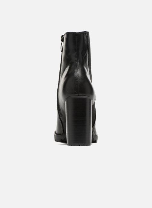 Bottines et boots Buffalo Bugom Noir vue droite