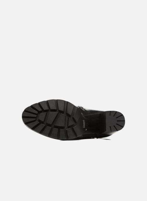 Bottines et boots Buffalo Bugom Noir vue haut