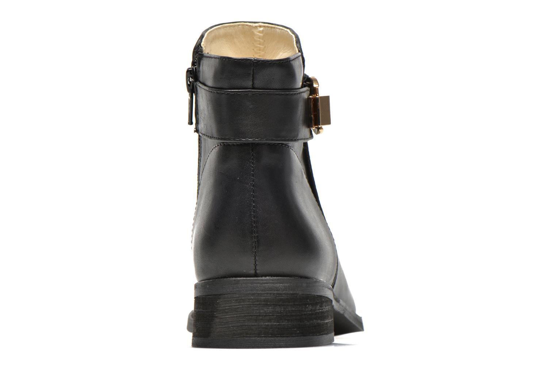 Bottines et boots Buffalo Befot Noir vue droite