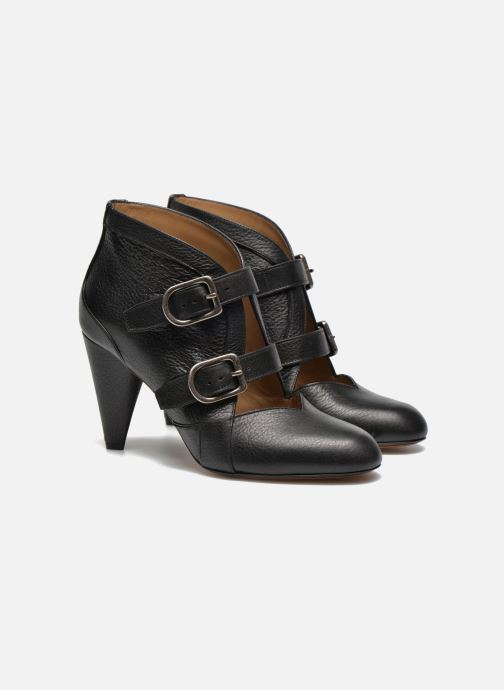 Ankle boots Sonia Rykiel Boot Buckel Black 3/4 view