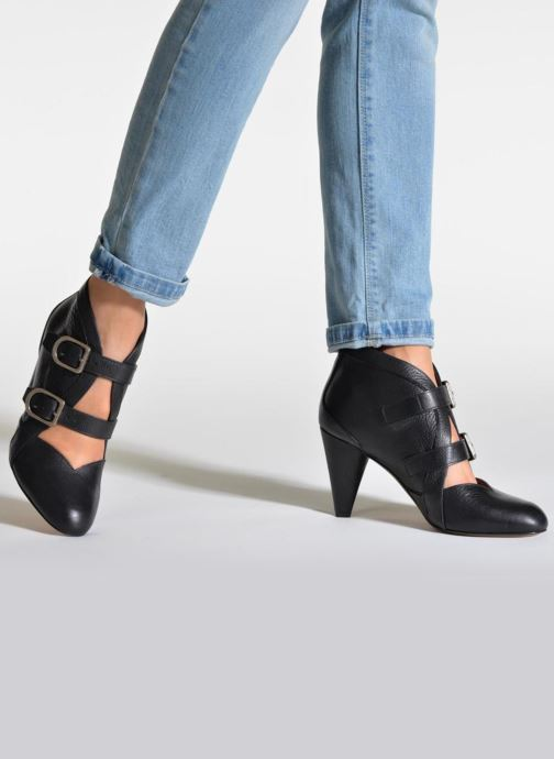 Ankle boots Sonia Rykiel Boot Buckel Black view from underneath / model view