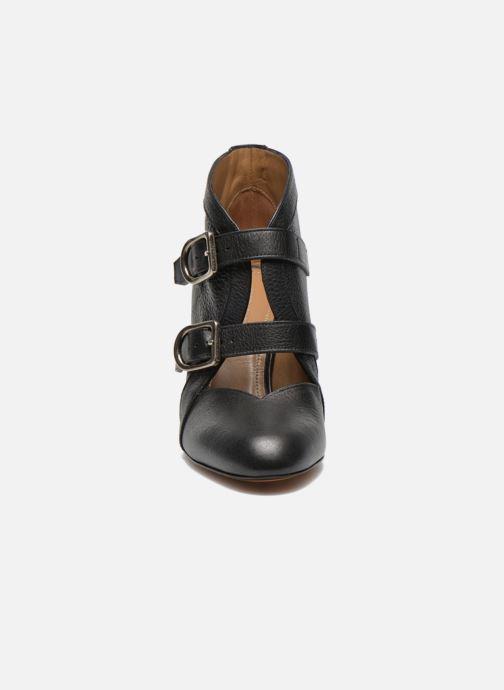 Stiefeletten & Boots Sonia Rykiel Boot Buckel schwarz schuhe getragen