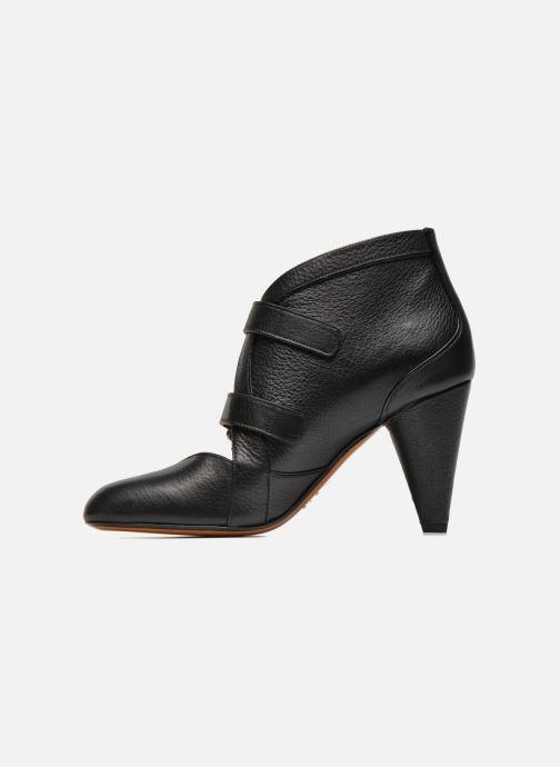 Stiefeletten & Boots Sonia Rykiel Boot Buckel schwarz ansicht von vorne