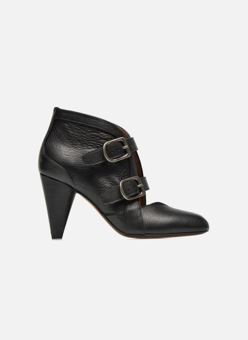 Ankle boots Sonia Rykiel Boot Buckel Black back view