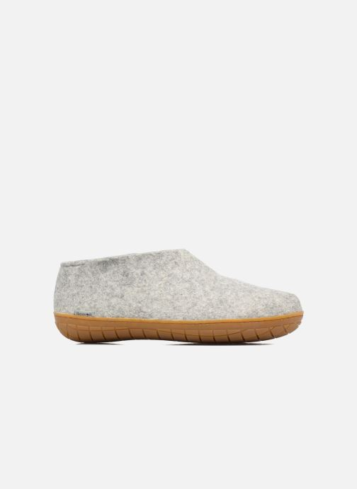 Slippers Glerups Porter Gomme M Grey back view