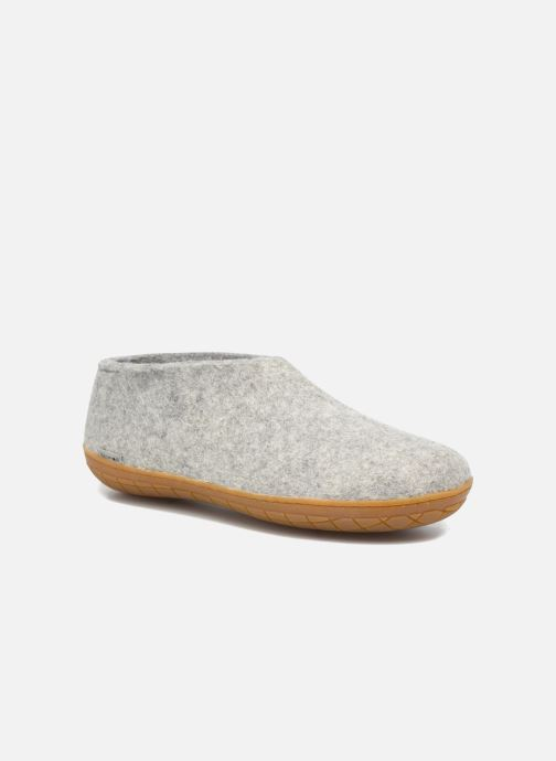 Hjemmesko Glerups Porter Gomme M Grå detaljeret billede af skoene